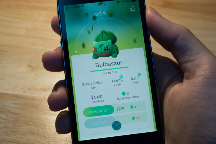 Pokemongo Bulbasaur